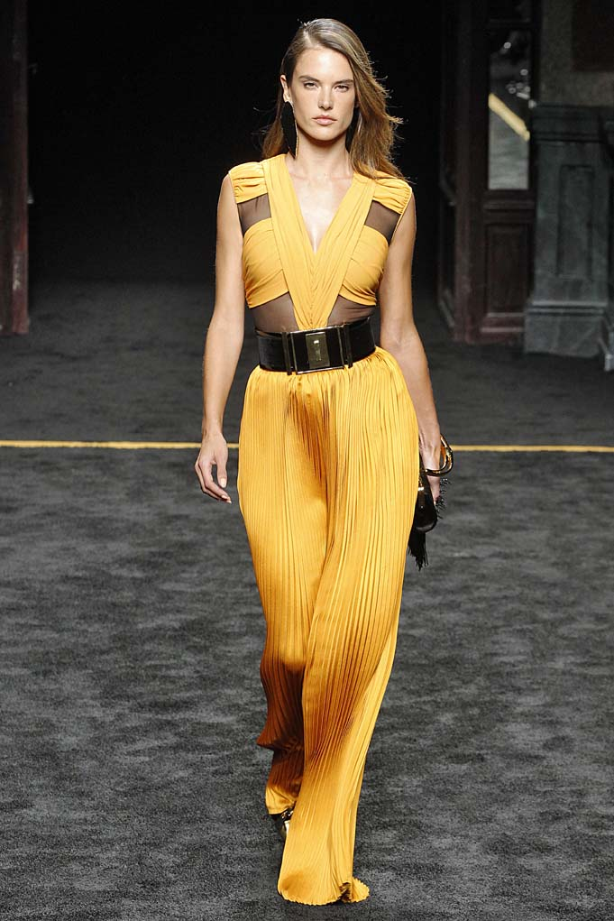 BalmainParis RTW Fall Winter 2015 March 2015