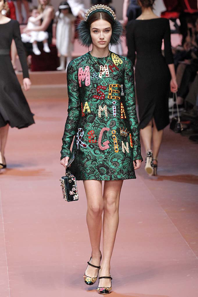 Dolce GabbanaMilan RTW Fall Winter 2015 February March 2015