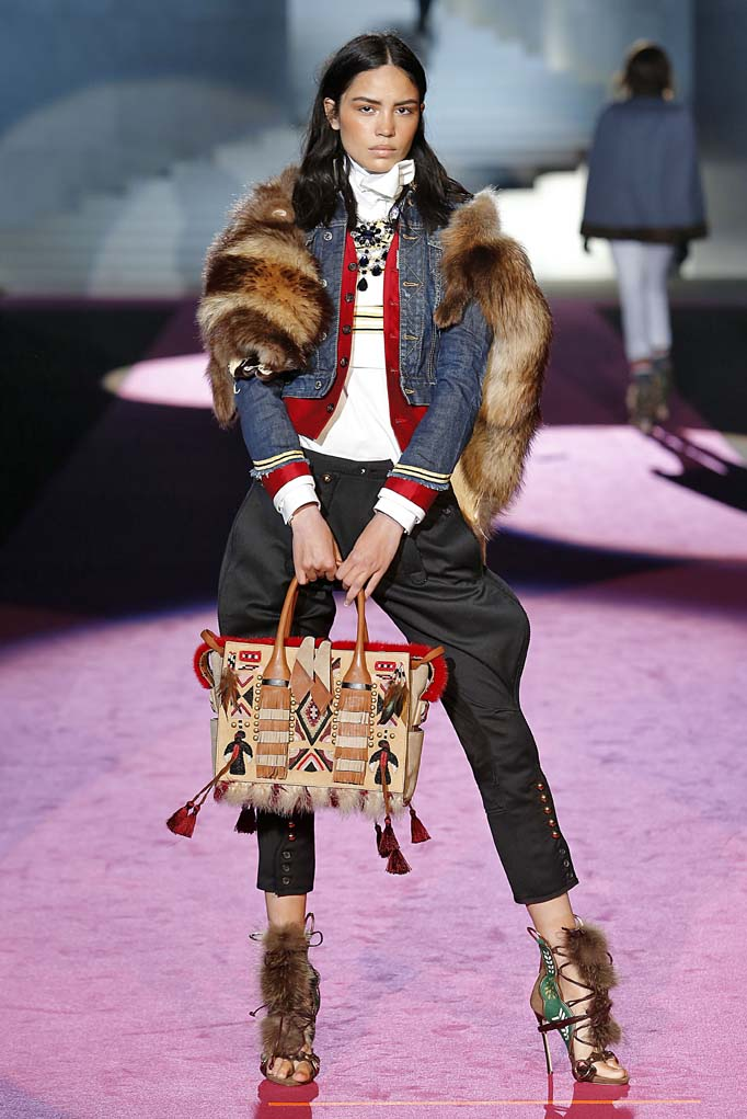 Dsquared2Milan RTW Fall Winter 2015 February March 2015
