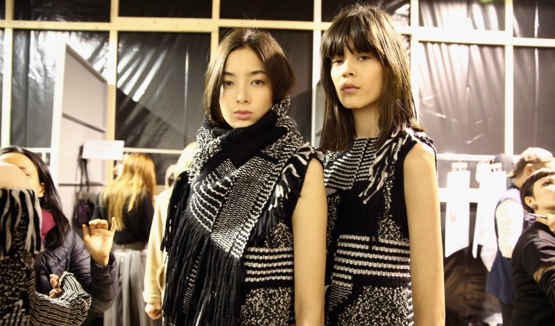 Maiyet : Backstage - Paris Fashion Week Womenswear Fall/Winter 2015/2016