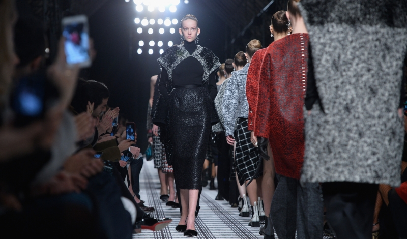 Balenciaga : Runway - Paris Fashion Week Womenswear Fall/Winter 2015/2016