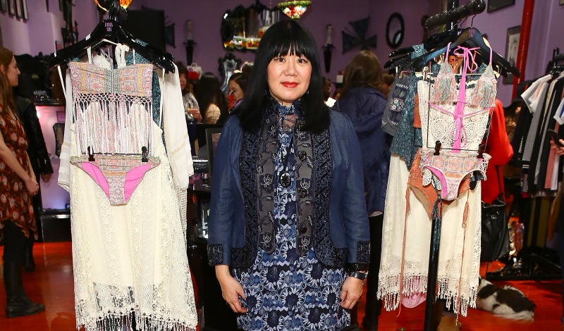 Anna Sui For O'Neill Collection Launch Party