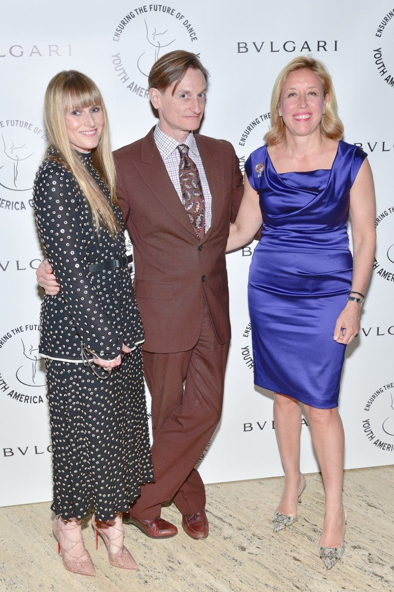 Amy Astley, Hamish Bowles, and Veronica Bulgari