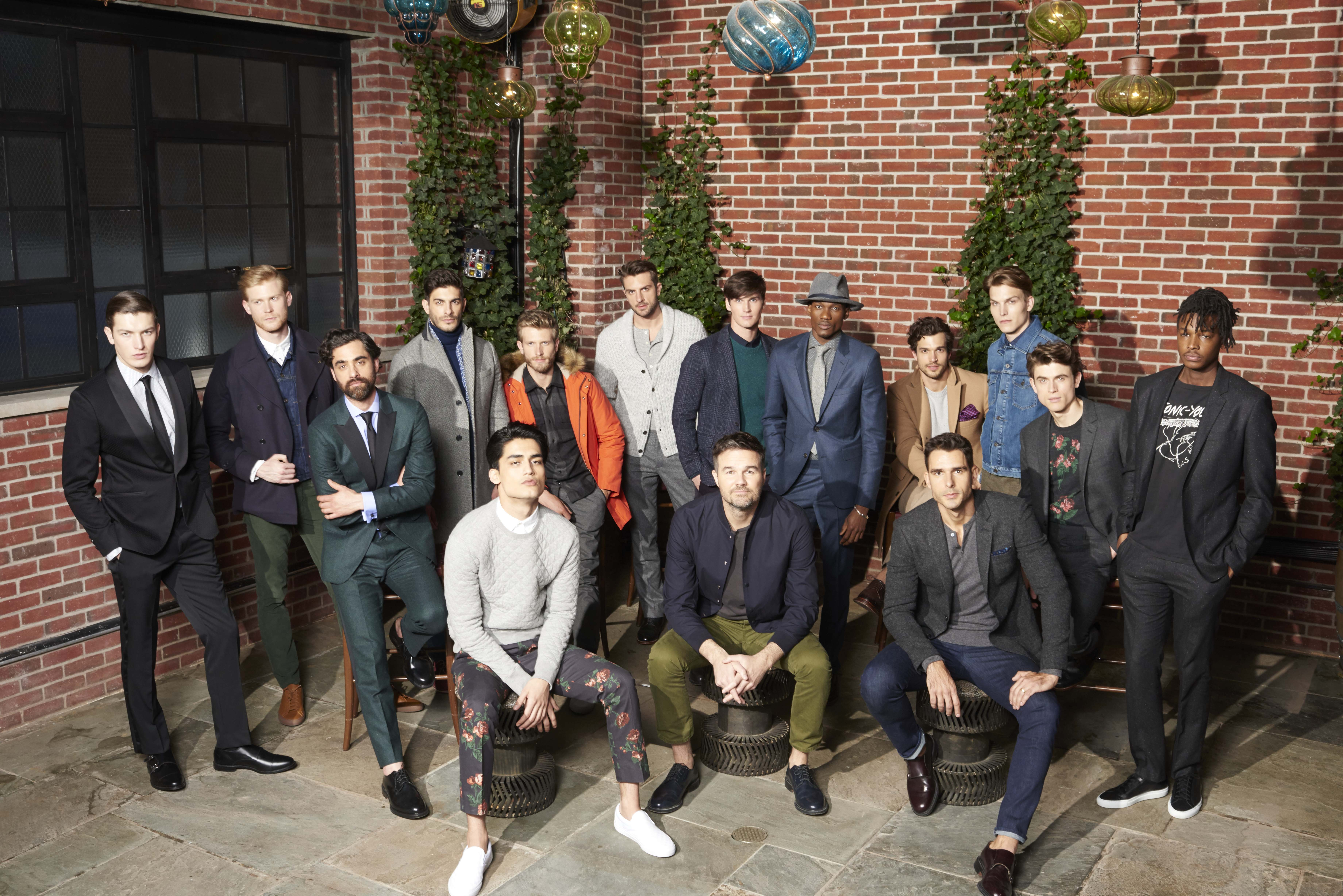 Bonobos Fall 15 Group shot with VP of Design Dwight Fenton