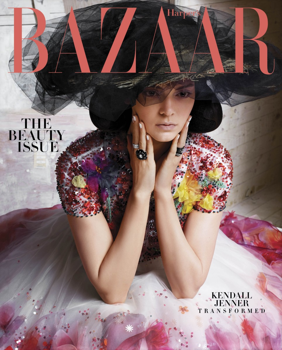 HBZ Kendall Jenner May Subscriber Cover