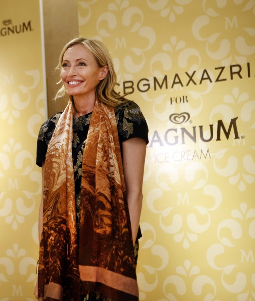 BCBGMaxazria for MAGNUM Belgian Chocolate Wrap Unveiling