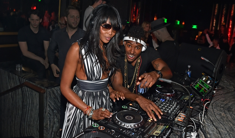Naomi Campbell Celebrates OMNIA Nightclub's Grand Opening With Special DJ Set Inside Heart Of OMNIA