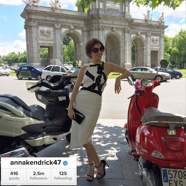 Anna Kendrick Wearing Miu Miu
