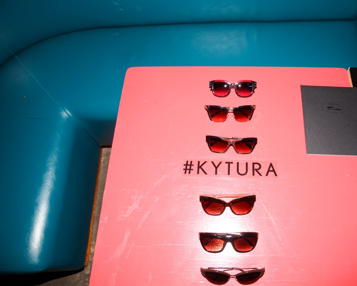 KATE YOUNG FOR TURA EYEWEAR LAUNCH PARTY