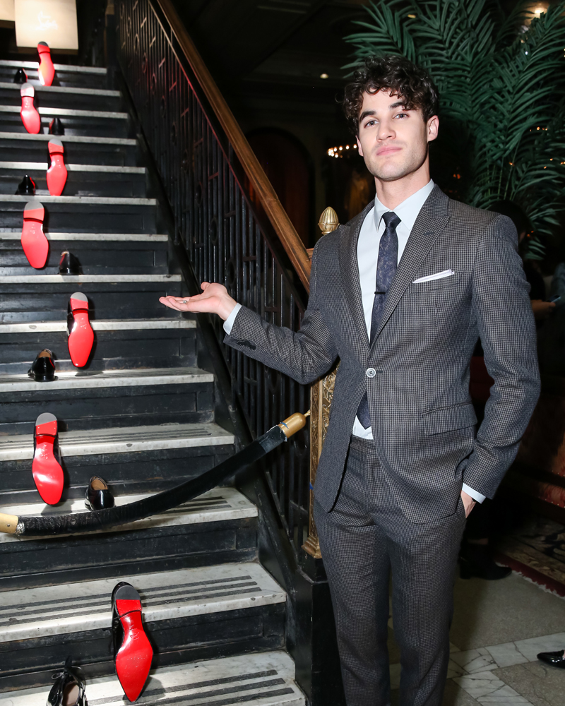 CHRISTIAN LOUBOUTIN and BERGDORF GOODMAN celebrate DARREN CRISS and his return to Broadway