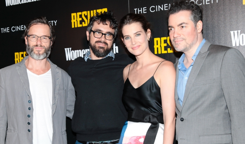 "The CINEMA SOCIETY with WOMEN'S HEALTH & FIJI WATER Host a Screening of Magnolia Pictures' ""Results"""
