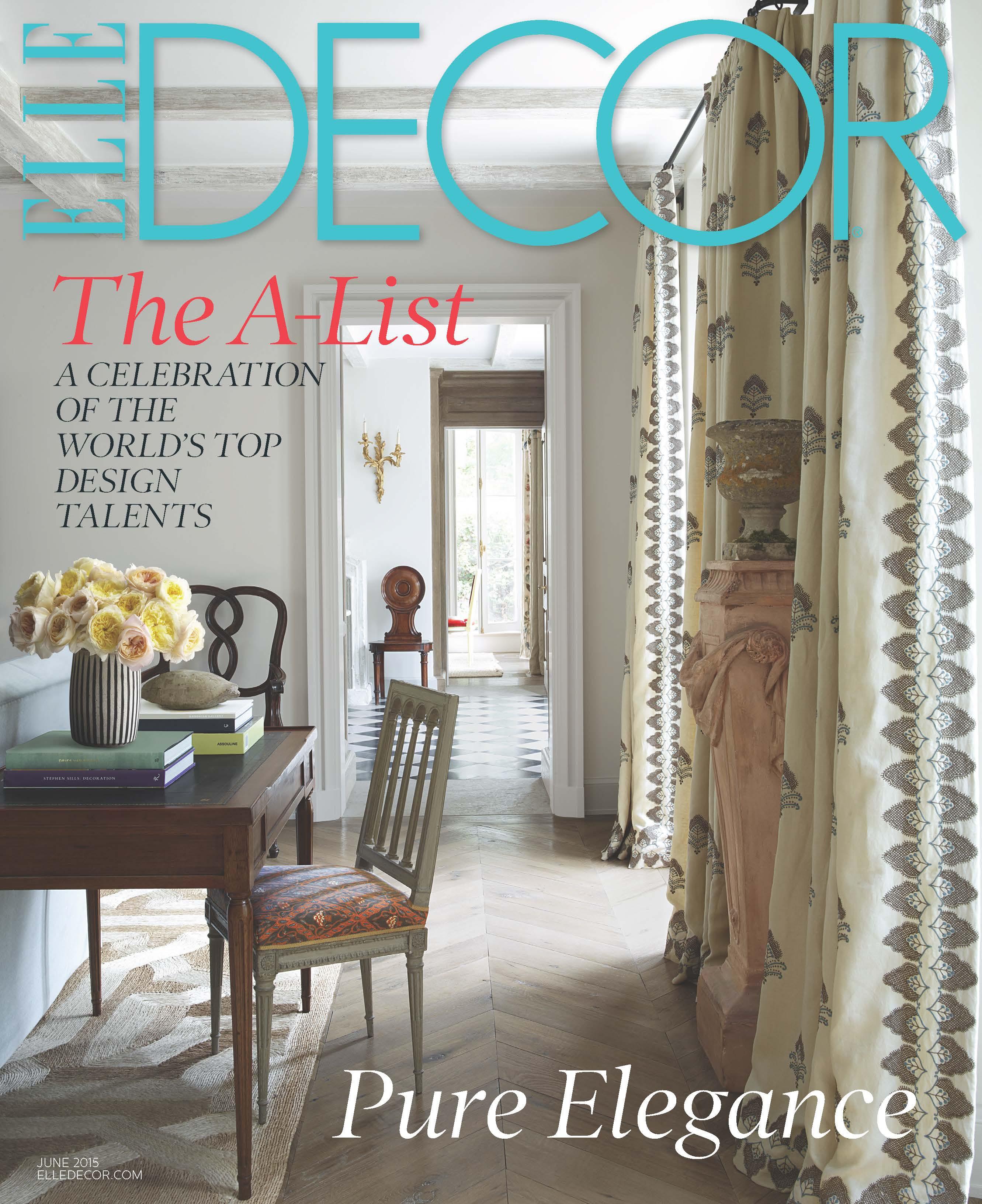 Elle decor interior design magazine