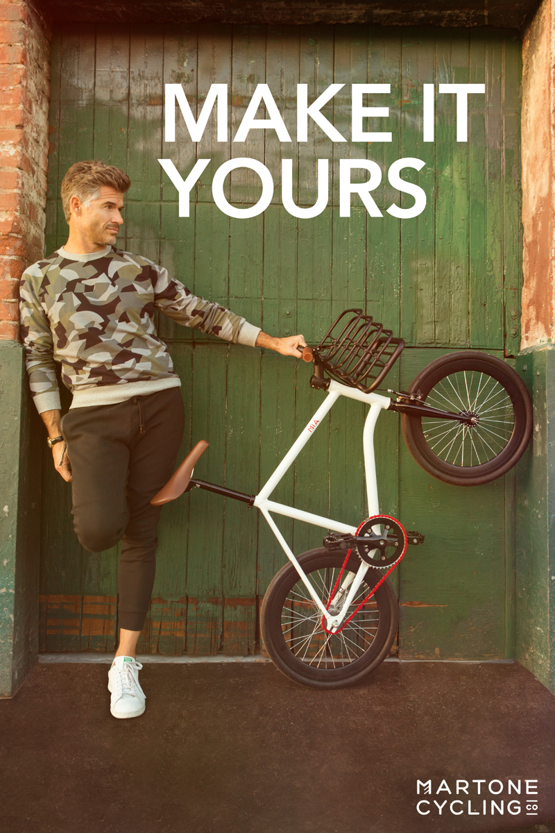 2015 Martone Cycling campaign with Eric Rutherford