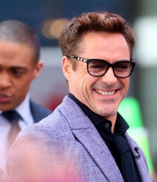 Robert Downey Jr. Wearing Versace