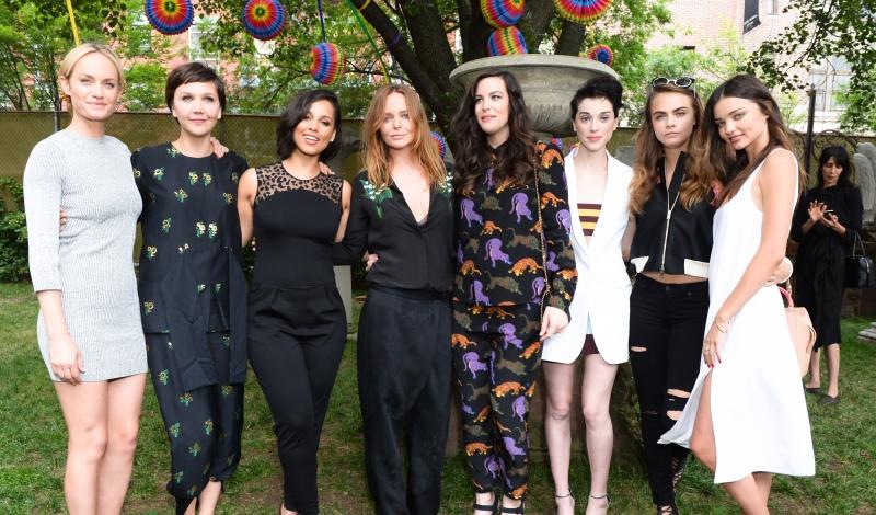 Amber Valletta, Maggie Gyllenhaal, Alicia Keys, Stella McCartney, Liv Tyler, St. Vincent, Cara Delevingne, Miranda Kerr