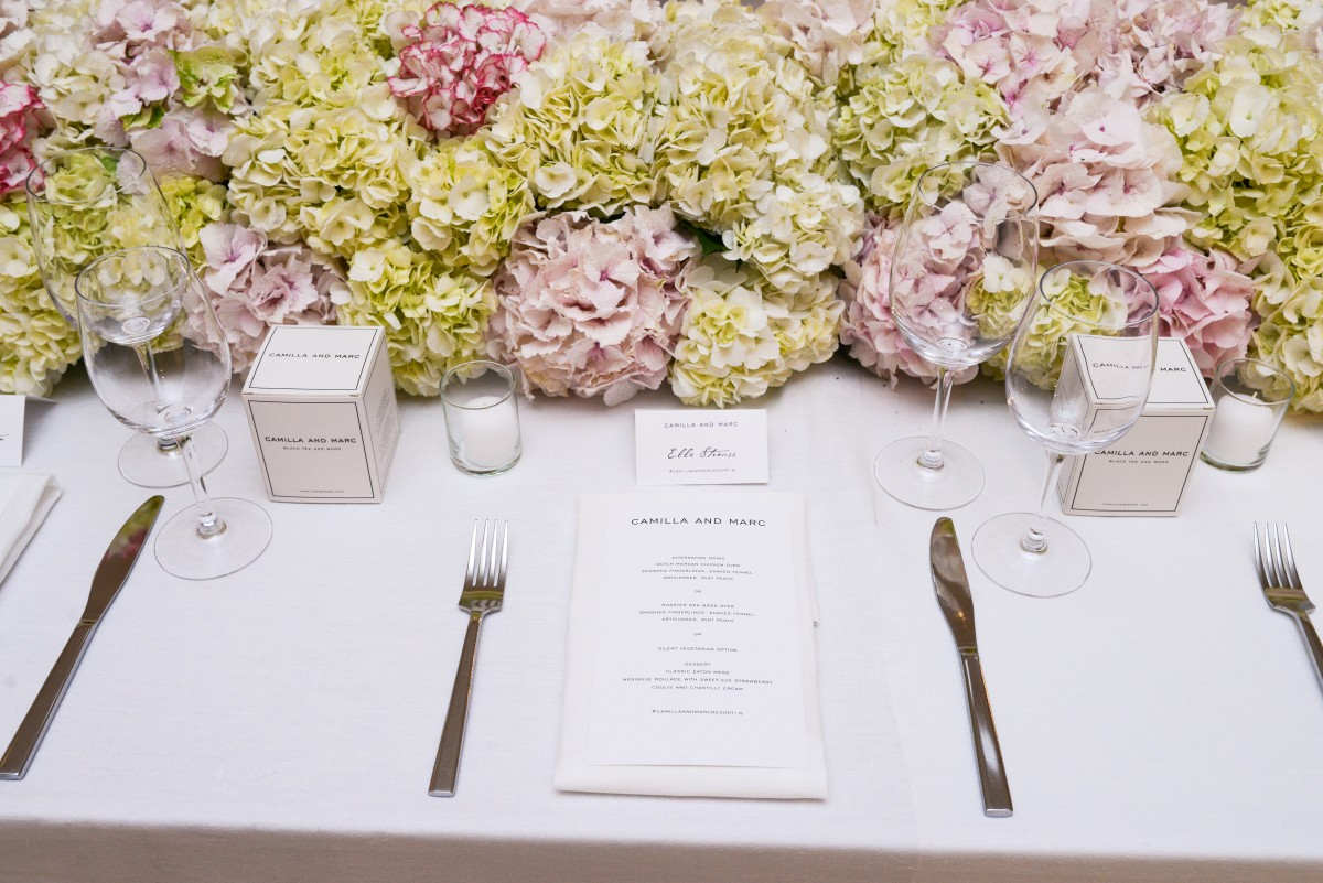 CAMILLA AND MARC DINNER IN CELEBRATION OF THE RESORT 2016 COLLECTION