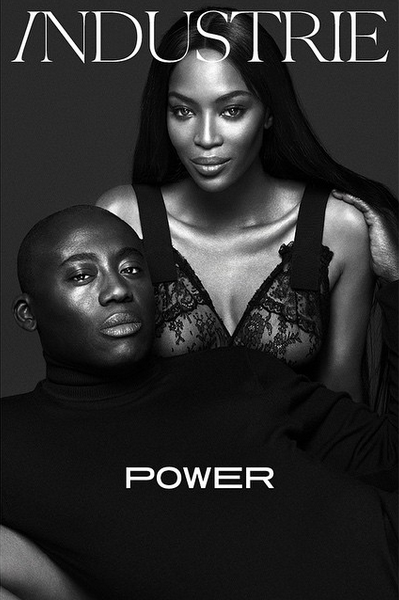 Edward Enninful Noami Campbell Industrie - theFashionSpot