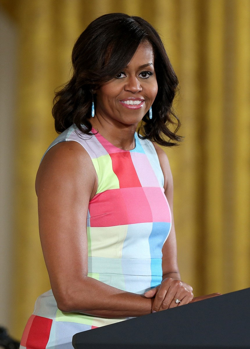 First Lady Michelle Obama Holds Ceremony To Present 2015 National Medal For Museum And Library Science