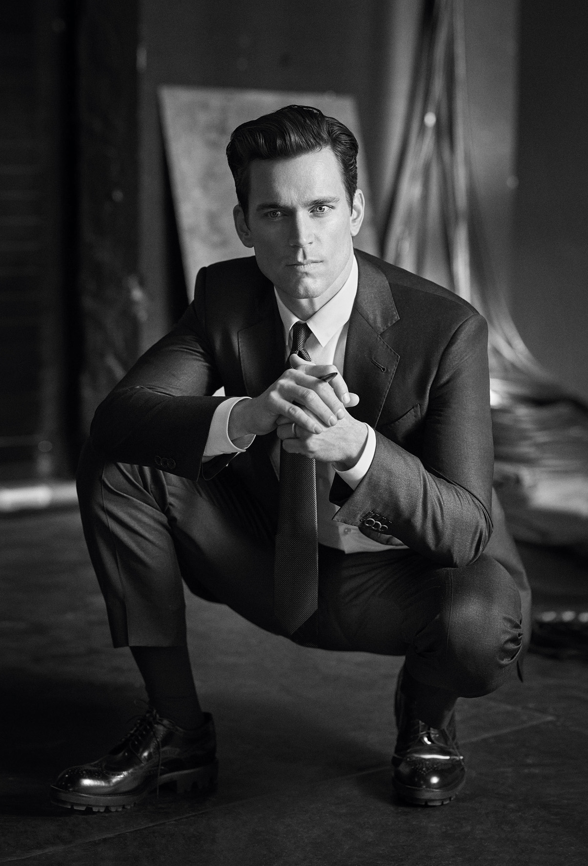 Matt Bomer Stars In Giorgio Armani's Made To Measure Campaign