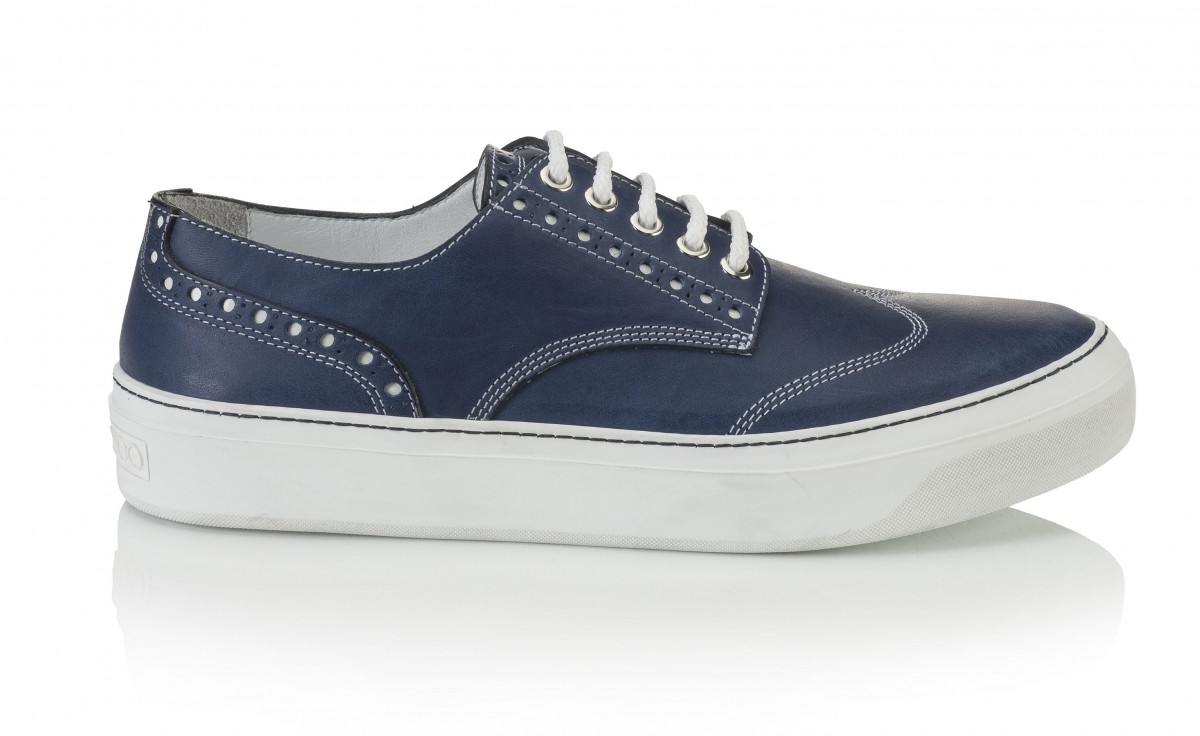 REGGY- SOFT VACHETTA- SEA BLUE