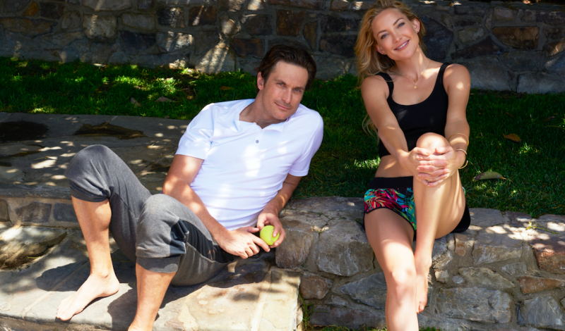 Sporty Chatter With Kate And Oliver Hudson About Men S