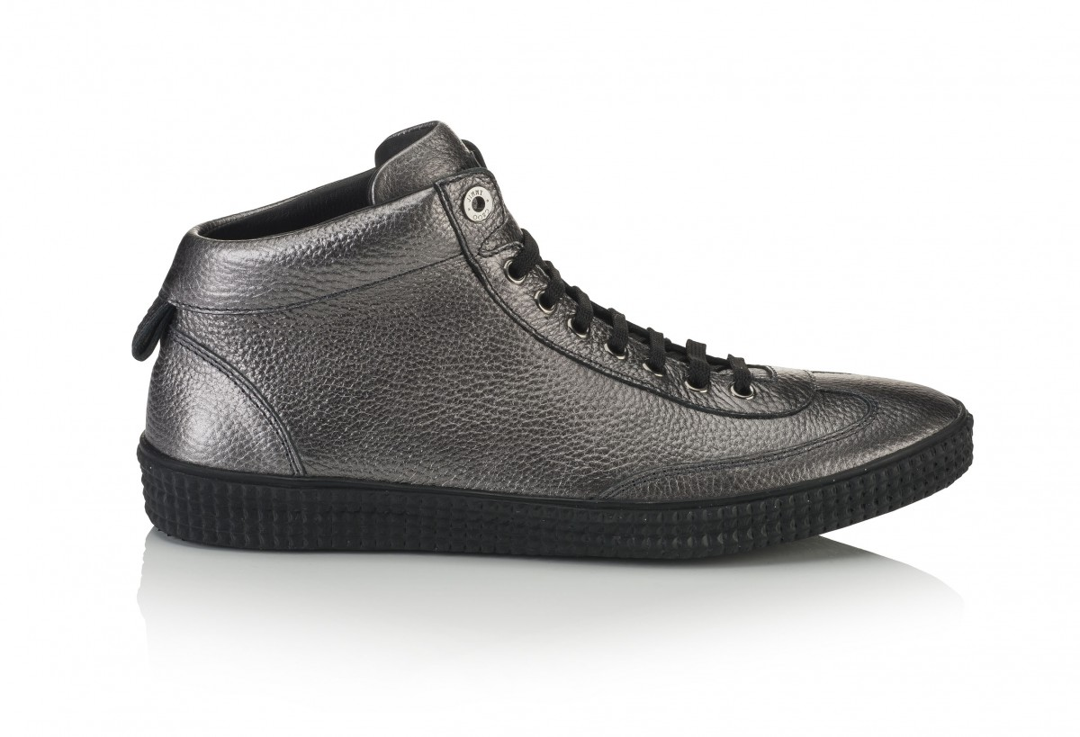 VARLEY- METALLIC GRAINED LEATHER- GUNMETAL