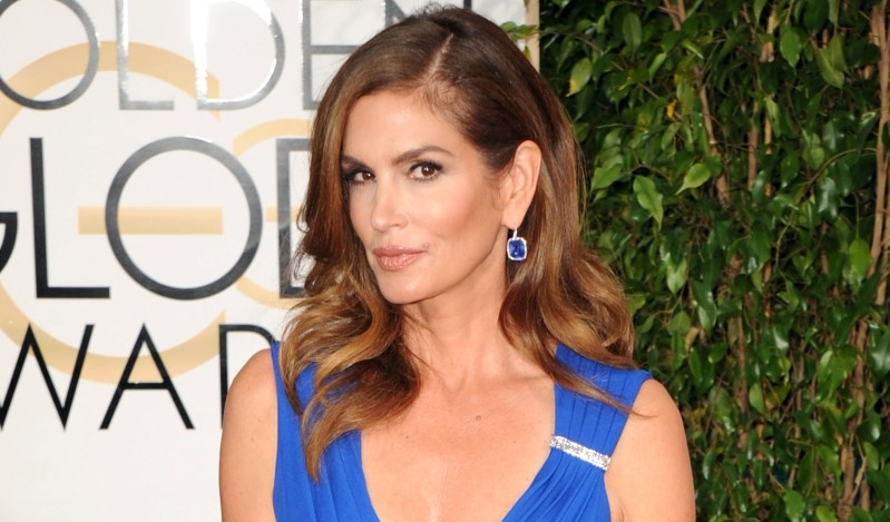 Cindy Crawford== 72nd Annual GOLDEN GLOBE AWARDS - Arrivals== The Beverly Hilton, Beverly Hills, CA== January 11, 2015== ©Patrick McMullan== Photo - DAVID CROTTY/patrickmcmullan.com== ==