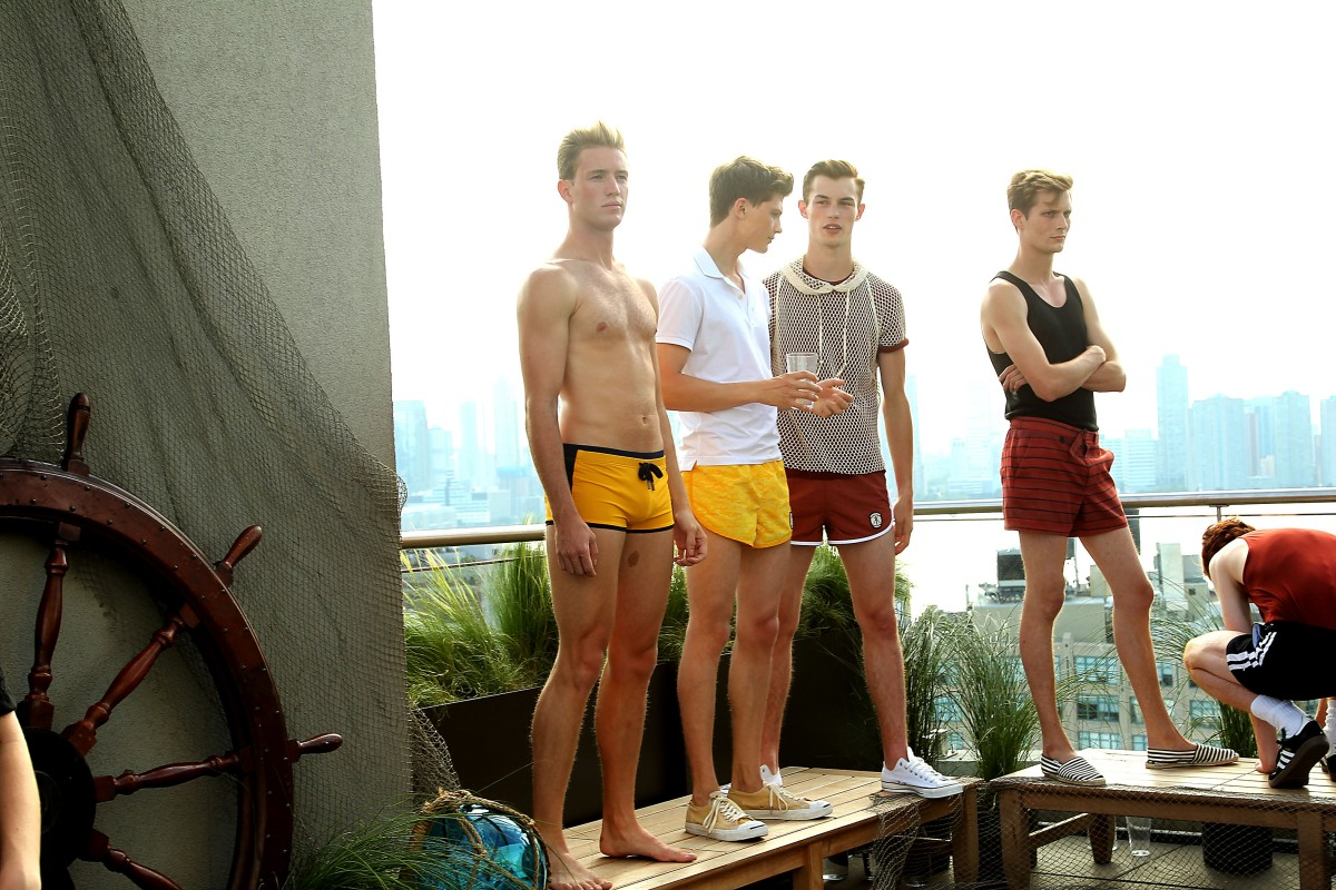 Garrett Neff Launches Swimwear Line KATAMA during Men's Fashion Week