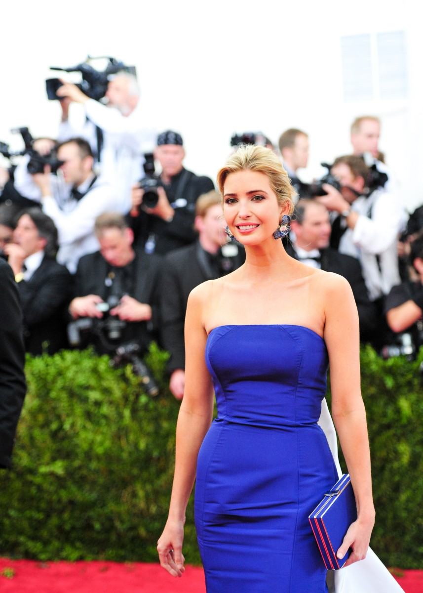 Ivanka Trump, (Wearing CINDY CHAO)