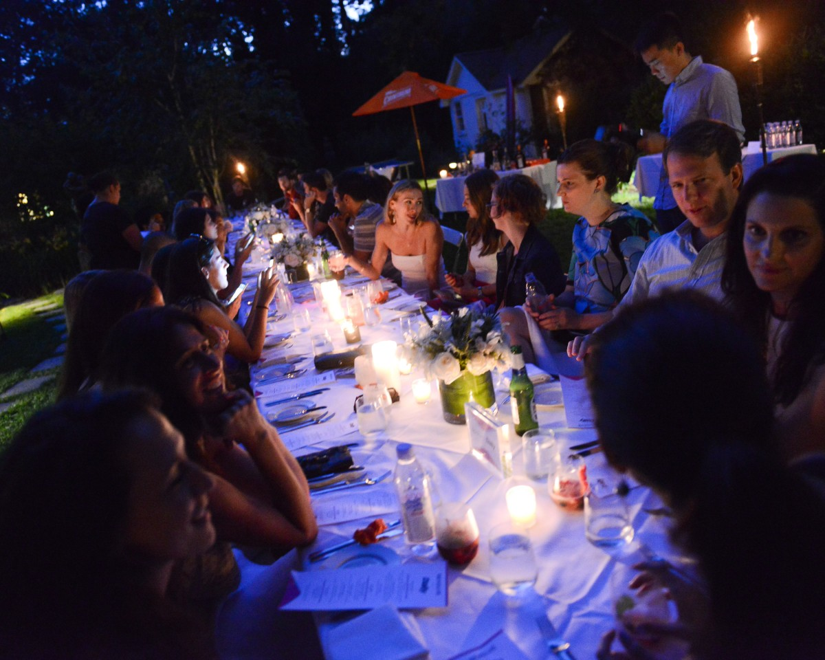 REVOLVE and THE DAILY FRONT ROW Dinner, REVOLVE-mosphere