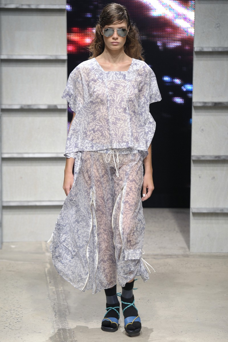 Band Of Outsiders Women's – Runway – Spring 2014 Mercedes-Benz Fashion Week