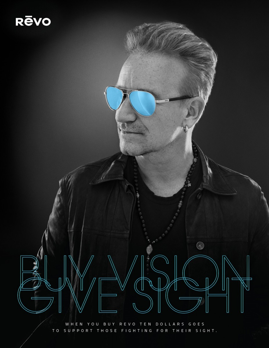 Bono for Buy Vision Give Sight – image by Sam Jones Photography
