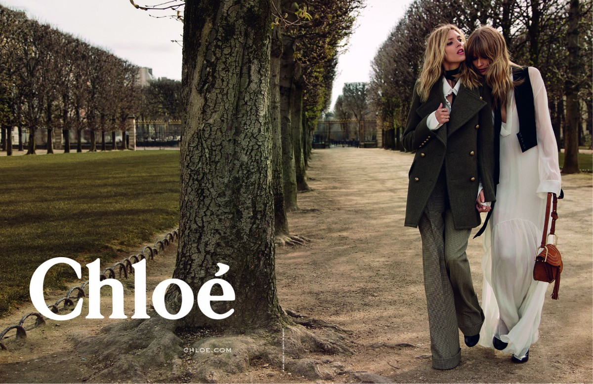 Chloé Fall-Winter 2015 Campaign 1A
