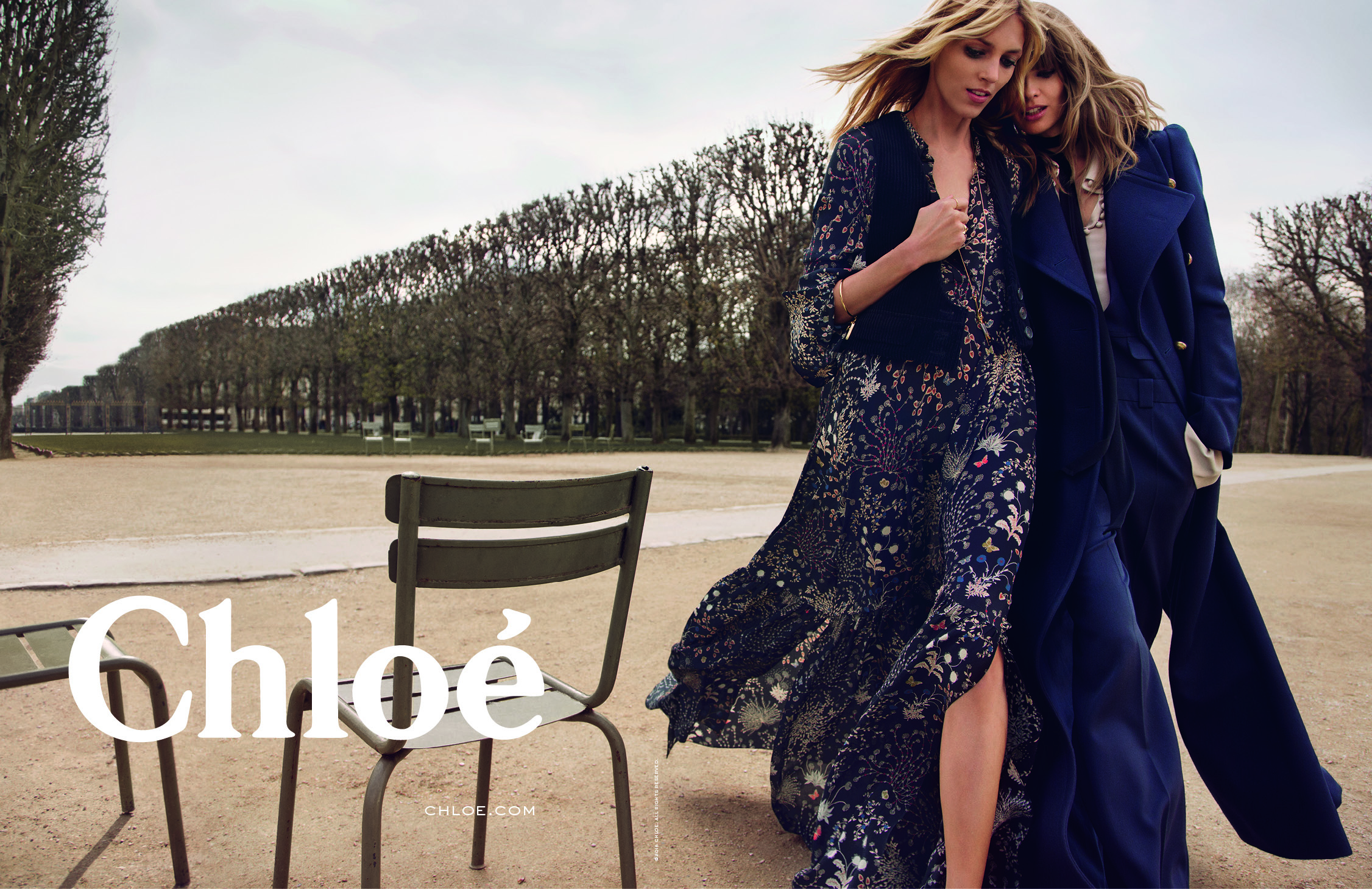 Chlo debuts fall 2015 ad campaign with anja rubik and julia stenger daily front row Fashion style girl hiver 2015