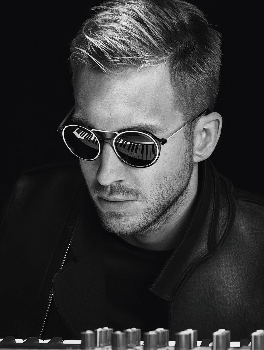 EMPORIO ARMANI FW1516 ADV _Calvin Harris_Eyewear