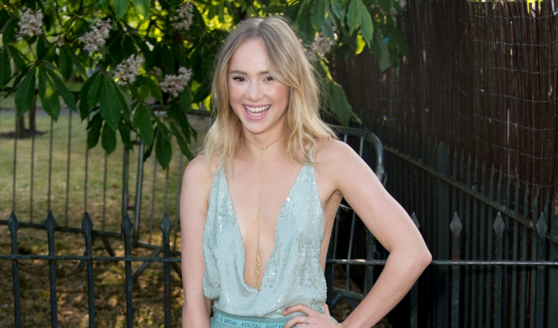 LONDON, ENGLAND - JULY 02:  Suki Waterhouse attends the Serpentine Gallery Summer Party at The Serpentine Gallery on July 2, 2015 in London, England.  (Photo by Ian Gavan/Getty Images)