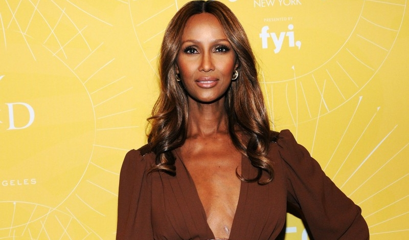 Iman at Cipriani in NYC, 2014