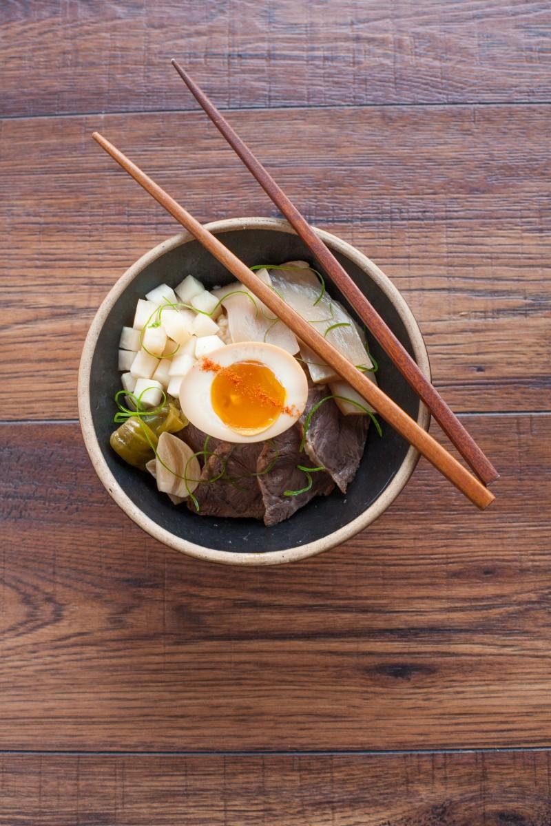 Jang-jo-rim Buttered Rice