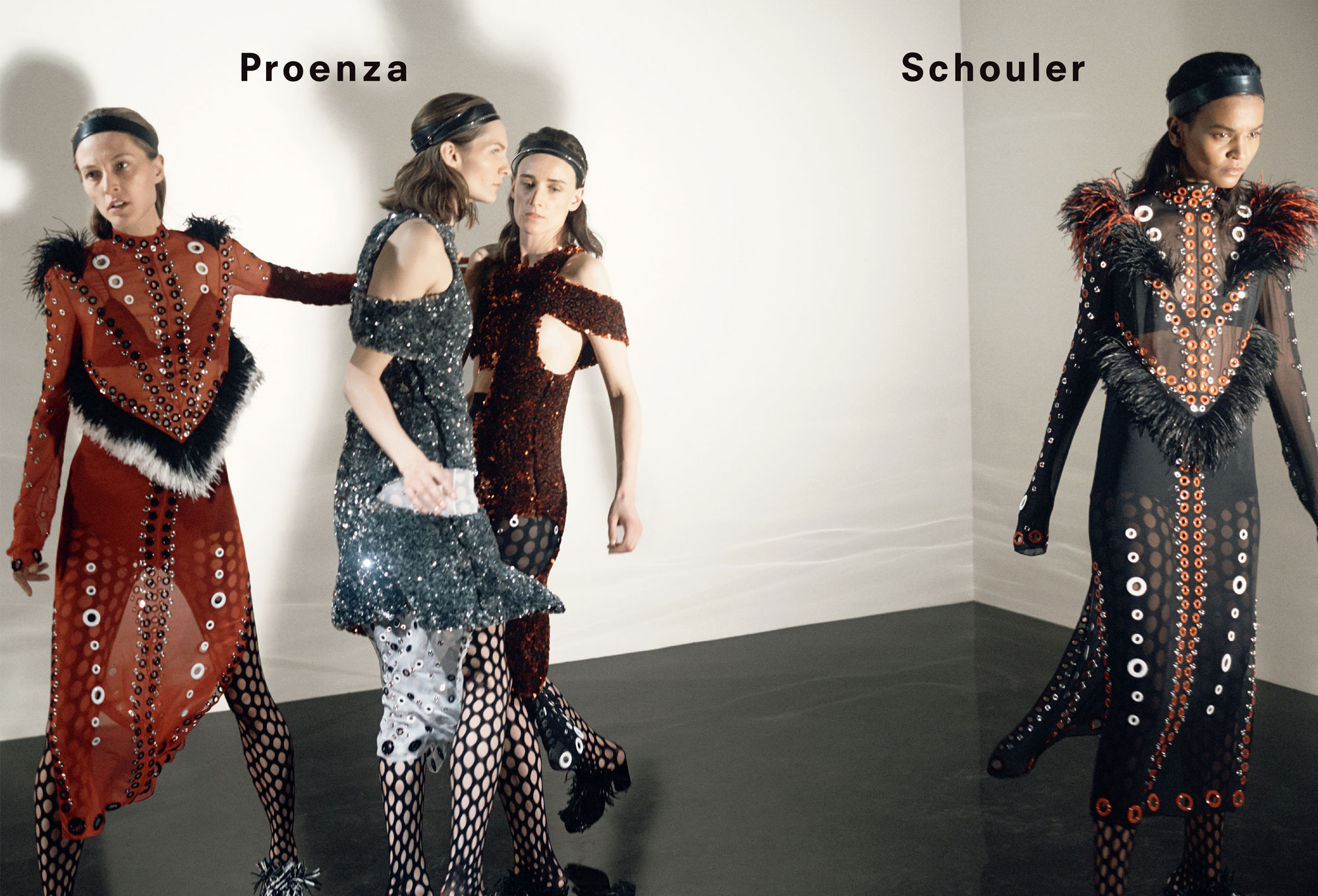 d1e9792bcf4 Proenza Schouler Launches Fall 2015 Ad Campaign Shot By David Sims - Daily  Front Row