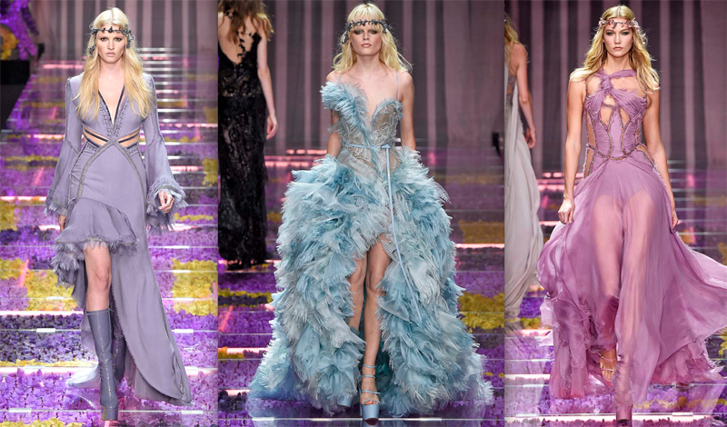 Versace Haute Couture Fall 2015 - Daily Front Row