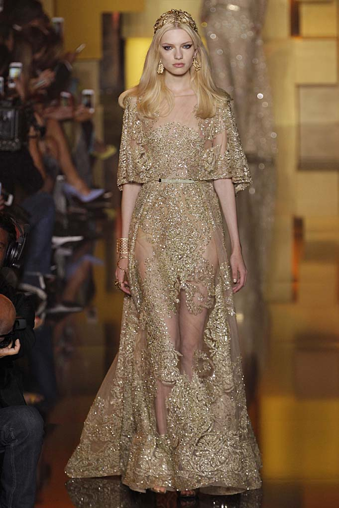 Elie Saab Paris Haute Couture Fall Winter 2015 July 2015