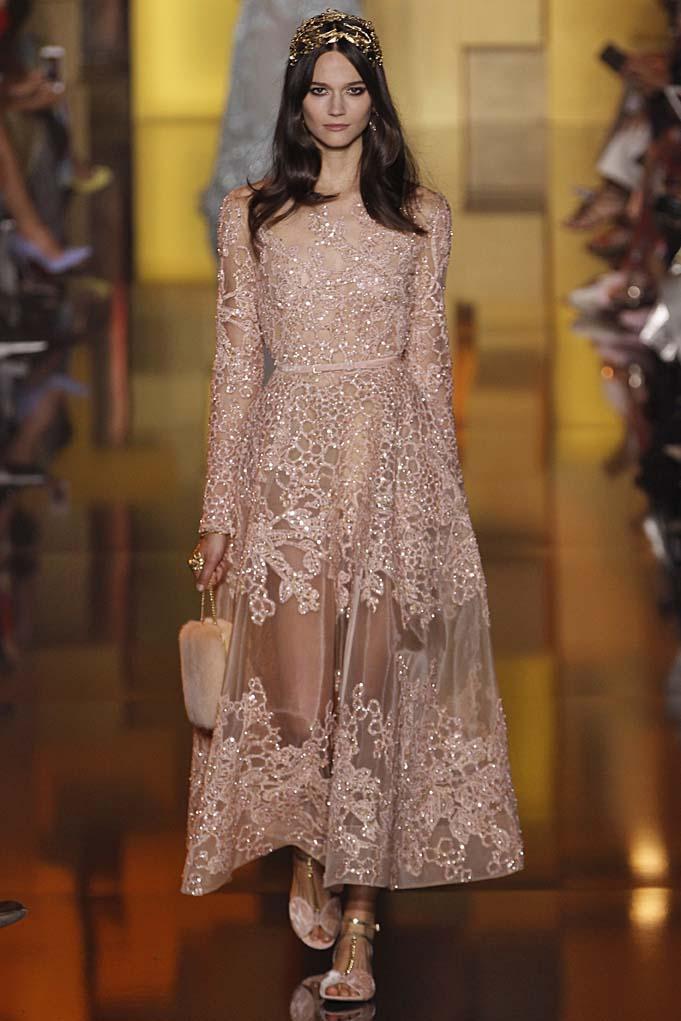 Elie Saab Paris Haute Couture Fall Winter 2015 July 2015