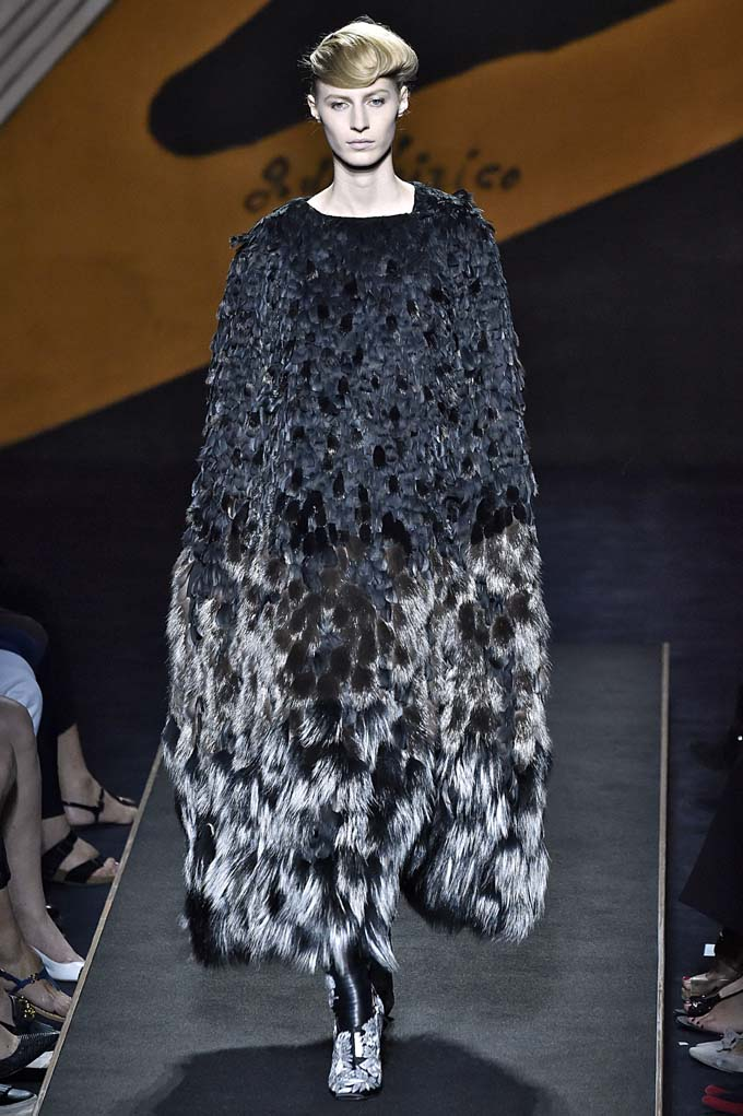 Fendi Haute Couture Fall Winter 2015 July 2015