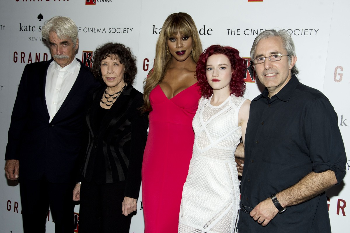 """The Cinema Society and Kate Spade host a screening of Sony Pictures Classics """"Grandma"""""""