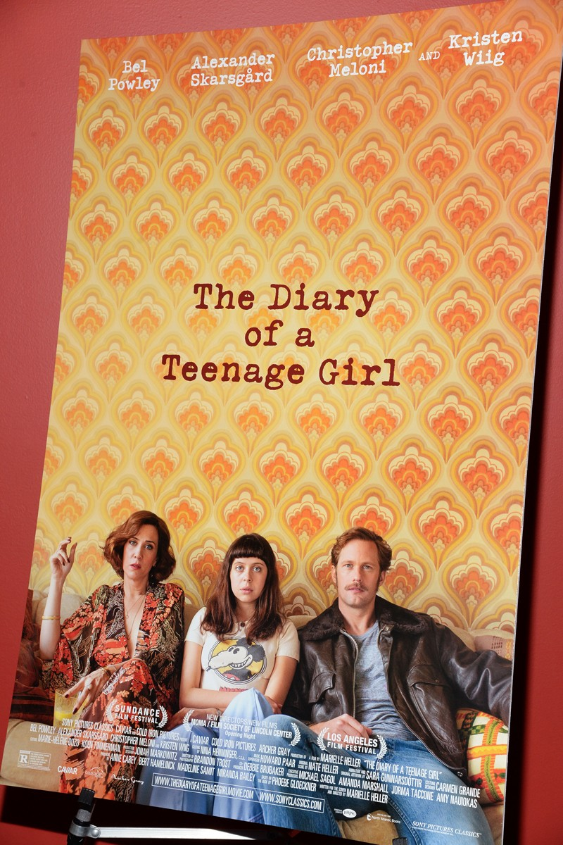 "Sony Pictures Classics with The Cinema Society host a screening of ""The Diary of a Teenage Girl"""