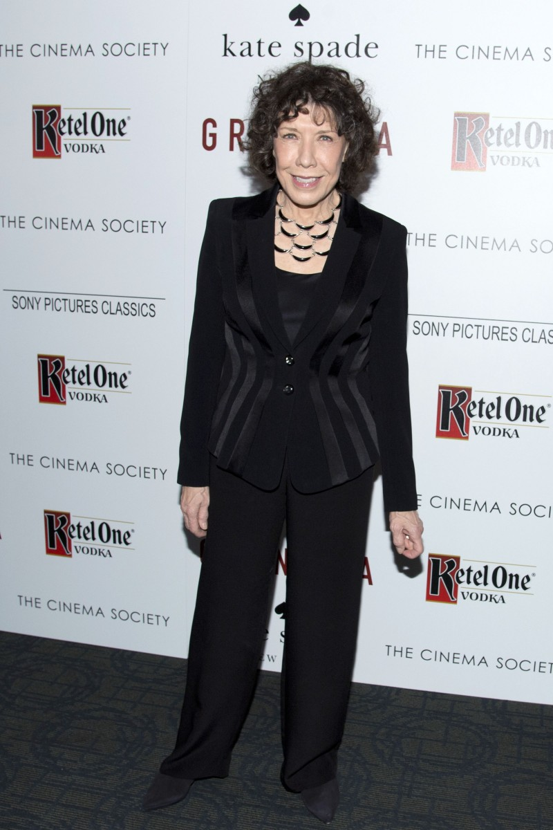 "The Cinema Society and Kate Spade host a screening of Sony Pictures Classics ""Grandma"""