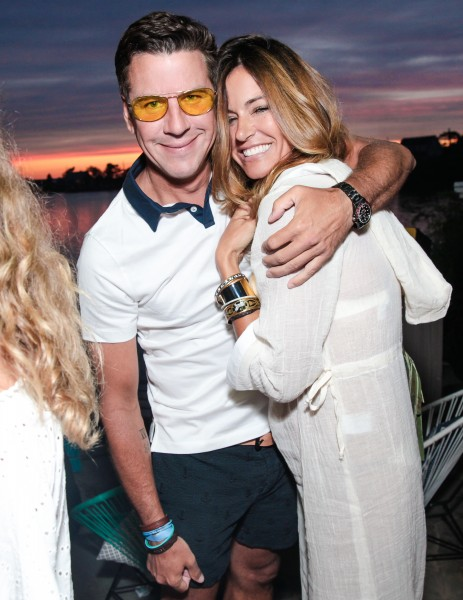 Peter Davis, Kelly Bensimon