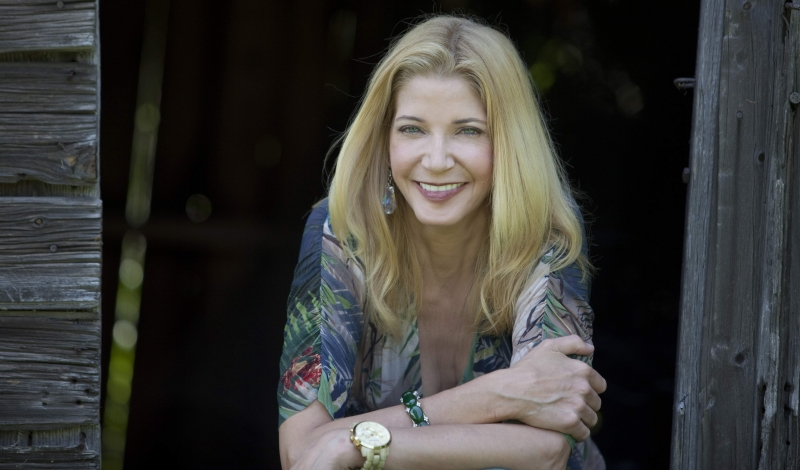 Candace Bushnell at home in Roxbury, Conn.  June 2010