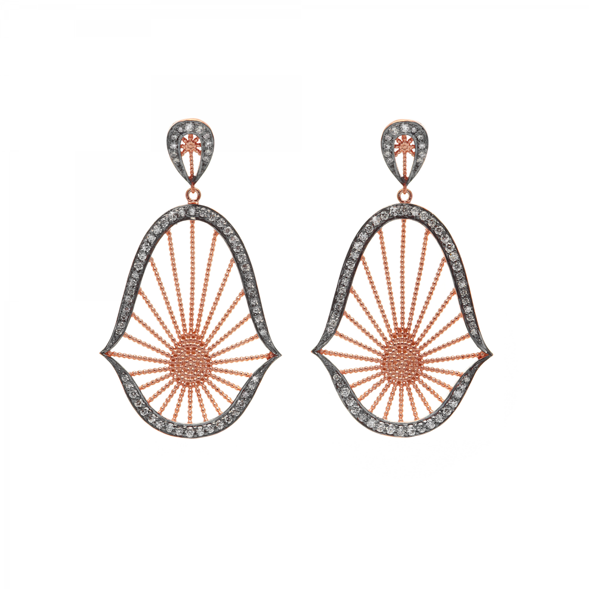CL – Oriental_Statement_Earrings_in_Rose_Vermeil_and_White_Diamonds_by_Assya