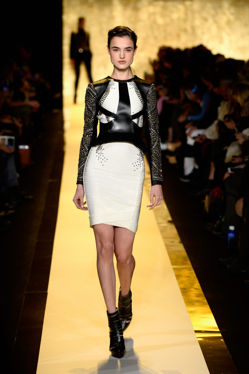 Herve Leger By Max Azria – Runway – Mercedes-Benz Fashion Week Fall 2015